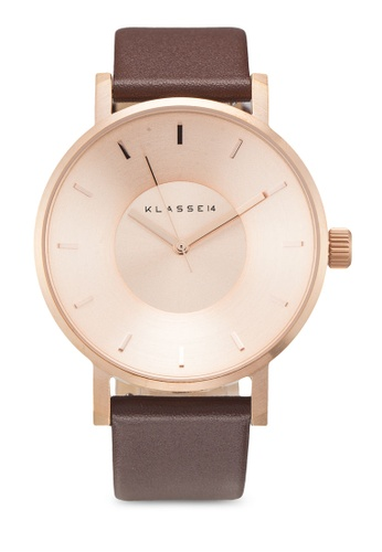 Klasse14 brown Volare Classic 42mm Rose Gold/Brown 87F8BAC3DCC2B7GS_1