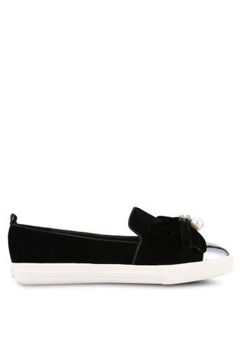 Miss KG black Lottie Sneakers MI302SH44BEDMY_1