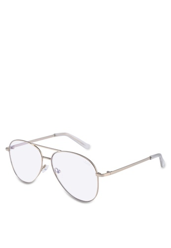 Quay Australia 金色 STILL STANDING Glasses 099C8GL760AE8DGS_1