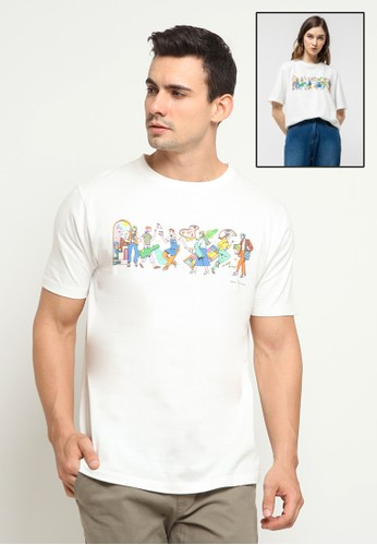 The Executive white The Executive X ISA Unisex Graphics T-Shirt 6D723AAC33488DGS_1
