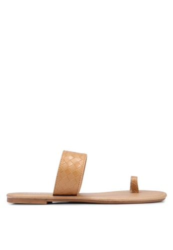 Rubi 褐色 Everyday Toe Loop Slides 4F12CSH0C3AC32GS_1