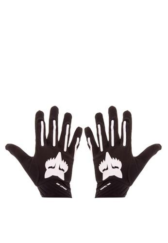 Fox Racing black Demo Air Gloves FO276AC0KAAVPH_1
