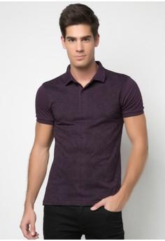 Men's Paisley Print Polo Shirt
