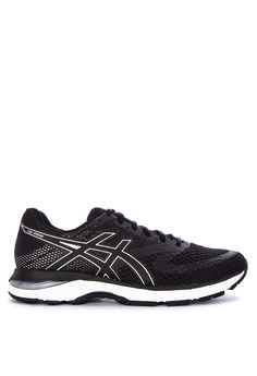 a8792dd4bb4b8 Asics black Gel-Pulse 10 Running Shoes 723FESHEF0E711GS 1