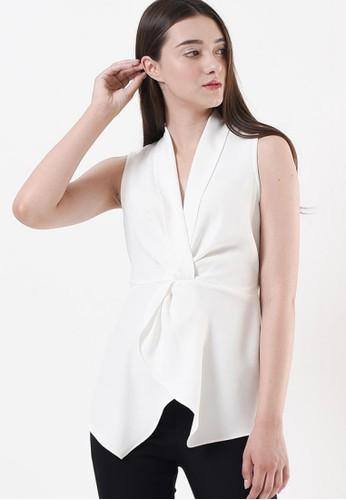 Ariane white SIENA TOP WHITE 0091DAA05BF566GS_1