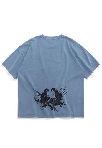 Twenty Eight Shoes Trend Printed Short T-shirt 1148S20 0B43BAA5720848GS_1