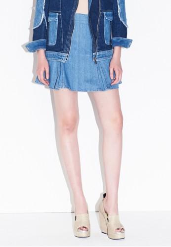 MAG2AN 修身高腰esprit台北門市短裙, 服飾, 裙子