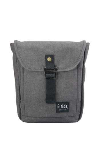 G.ride grey Charles Shoulder Bag A353EAC3B81692GS_1