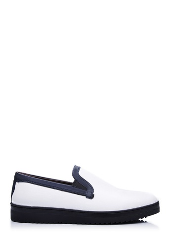 BONIA white White Basic Sneakers E5D35SH7F83F75GS_1