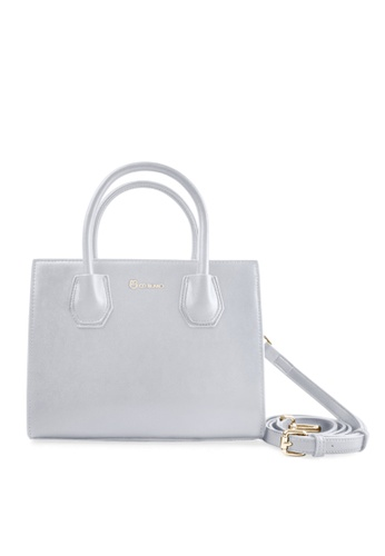 CO BLANC grey and blue CO BLANC - Top Handle Sling Bag 5CD64AC9160278GS_1
