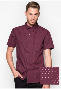Inverted'V' Icon Short Sleeve Shirt