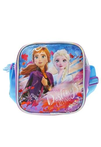 Disney Frozen blue and purple Disney Frozen 2 Destiny Sling Bag 1BB7BKC051C629GS_1