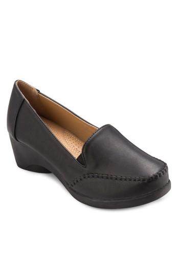 厚底高跟莫卡辛鞋, 女鞋, 厚底esprit 品牌高跟鞋