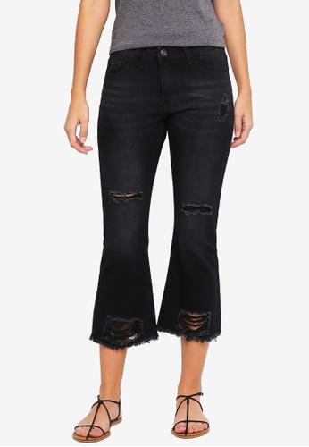 ZALORA black Distressed Jeans 9B820AA4D081A2GS_1