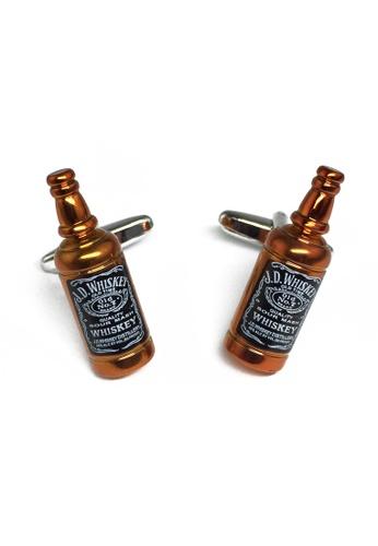 Splice Cufflinks brown Whisky Bottle Cufflinks SP744AC75IMASG_1
