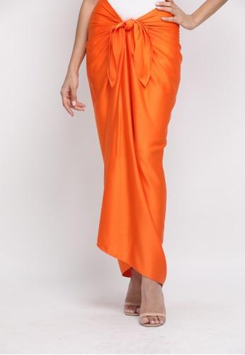 Klambi KL orange INSTANT PAREO PUMPKIN ORANGE 79B16AA4FB2536GS_1