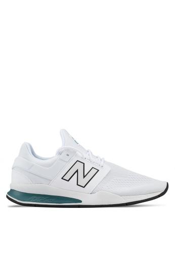 New Balance white 247 Lifestyle Tritium Shoes 66A00SHC752076GS_1