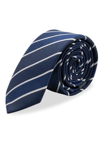 Arden Teal blue Sete Skinny Silk Tie 5F388AC8ED36BDGS_1