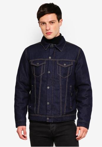 6a8aab0e8 Woven Regular Denim Jacket