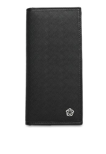 Wild Channel black Faux Leather Long Wallet B9C0EAC95C8CEAGS_1