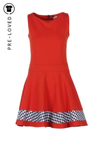 Junior Gaultier orange Pre-Loved junior gaultier Orange Gladys Trapeze Dress 626C2AA1238B0AGS_1