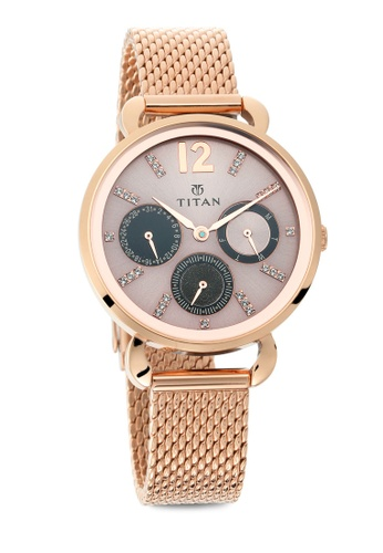 Titan x Naelofar gold Titan x Naelofar, Titan Purple Watch 95013WM02 TI758AC0SIL6MY_1