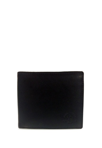 Santa Barbara Polo & Racquet black Santa Barbara Polo & Racquet Club Leather Bifold Wallet EC8FCACE0F50E3GS_1