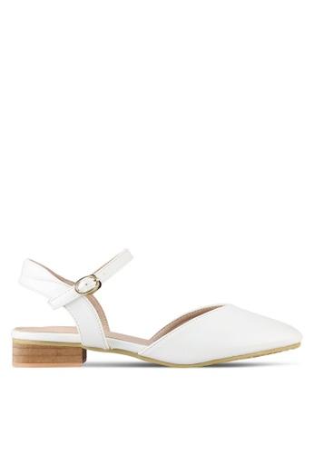 Twenty Eight Shoes white Slingback Ballet Flats TW281SH0RLUBMY_1