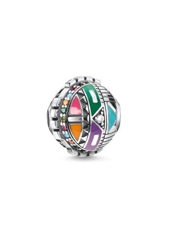 "THOMAS SABO silver Bead ""sun symbol"" 0535BAC74F243AGS_1"