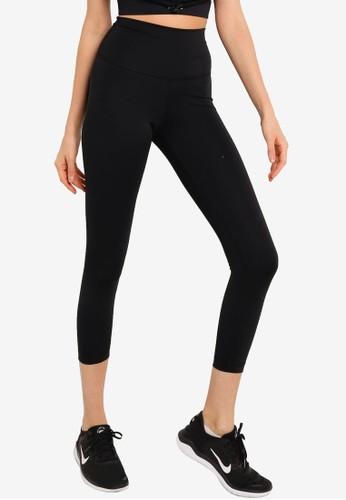Nike black AS Women's Yoga 7/8 Tights 26D5BAA3527E20GS_1