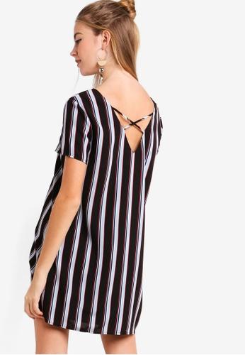 Something Borrowed black Cross Back Shift Dress A29D7AA80C2386GS_1