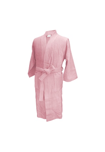 Charles Millen Charles Millen Bathrobe Kimono Style ( light weight, Stylish Robe ). 1C709HL73E7352GS_1