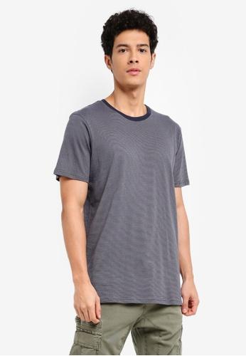 Cotton On 海軍藍色 短袖休閒T恤 5962EAA7979864GS_1
