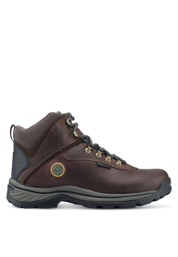 Timberland brown White Ledge Mid Waterproof Boots AECBASH0FD7EDCGS_1