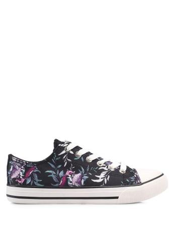 Rubi black Jodi Low Rise Sneakers 99AFFSHAAD0762GS_1