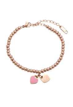 e9ca6c6e1c9 CELOVIS pink and gold Ti'amo 2in1 Pink Heart Rose Gold Bracelet  22DB7AC90160C6GS_1