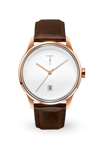 Tylor white and brown and gold Cali Vibe Watch TY212AC0JE5VPH_1