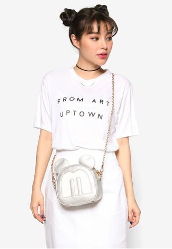 韓系時尚 From Aesprit taiwanrt Uptown 短袖上衣, 服飾, 上衣