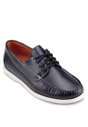 仿皮圓頭繫帶懶人鞋zalora 內衣, 鞋, 鞋