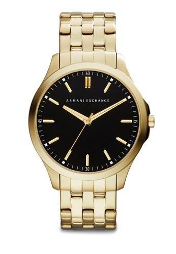 Armani Exchange black and gold Gold/Black Armani Exchange AX2145 Watch AR845AC40FSLSG_1