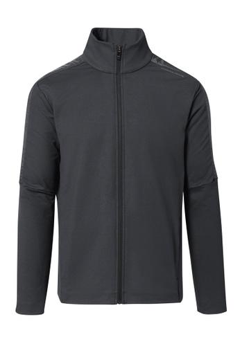 Porsche Design grey Porsche Design x PUMA Grey Men's Track Jacket T7 Asphalt Jacket for Men 888F4AA5245364GS_1
