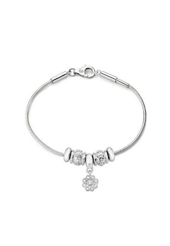 Morellato silver Morellato Solomia Stering Silver 925 Crystals Ladies Bracelets SAFZ130 68510AC034560BGS_1