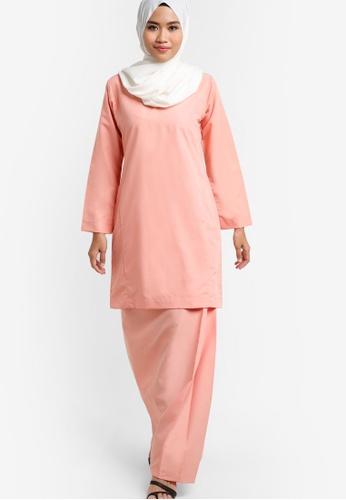 Amar Amran orange Baju Kurung Qasidah AM362AA63JXKMY_1