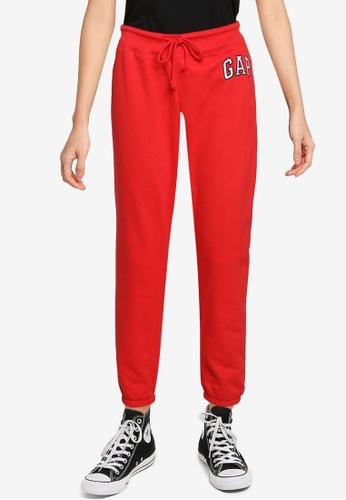GAP red Gap Logo Sweatpants 26B6BAA701A709GS_1
