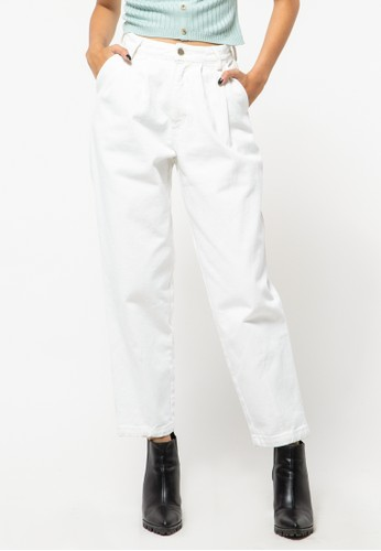 COLORBOX white Slouchy jeans C258DAA9717B23GS_1