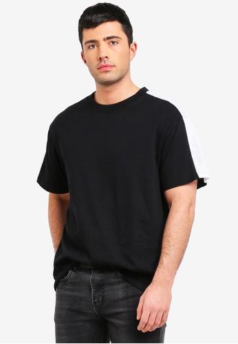 Cotton On 黑色 寬鬆T恤 F0AAAAAE90CBD3GS_1