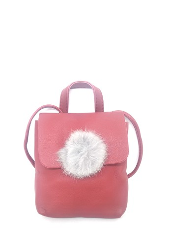MAYONETTE red Mayonette Belle Mini Sling Bag - Marun 8A8ABAC6C38AACGS_1