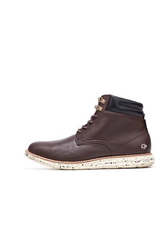 Craesprit 香港ftsman皮革靴, 鞋, 靴子