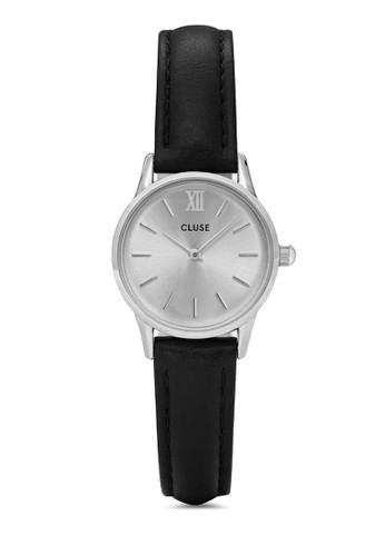 La Vedetesprit taiwante CL50014 奢華真皮帶圓錶, 錶類, 飾品配件