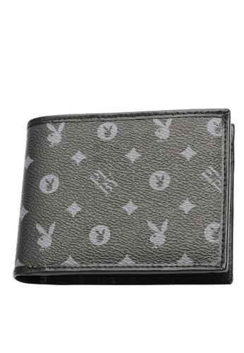 Playboy black RFID Blocking Wallet FD21EACCC5F682GS_1